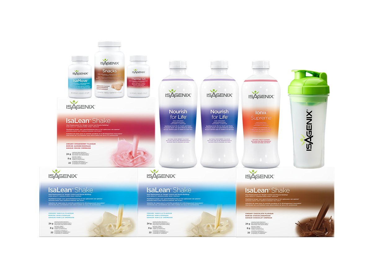 Isagenix Diet - 30 Day Cleanse​ - Isagenix Belgium - IsaBelgium